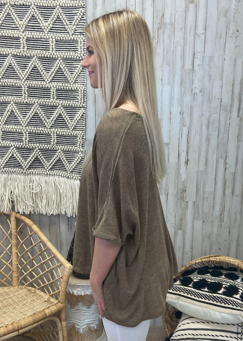 What You've Said Mocha Dolman Top-Shop-Womens-Boutique-Clothing