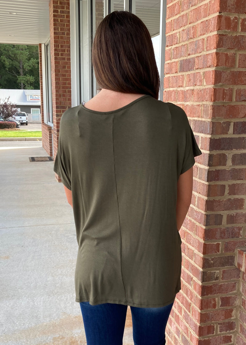 Anything But Basic Olive Top-Shop-Womens-Boutique-Clothing