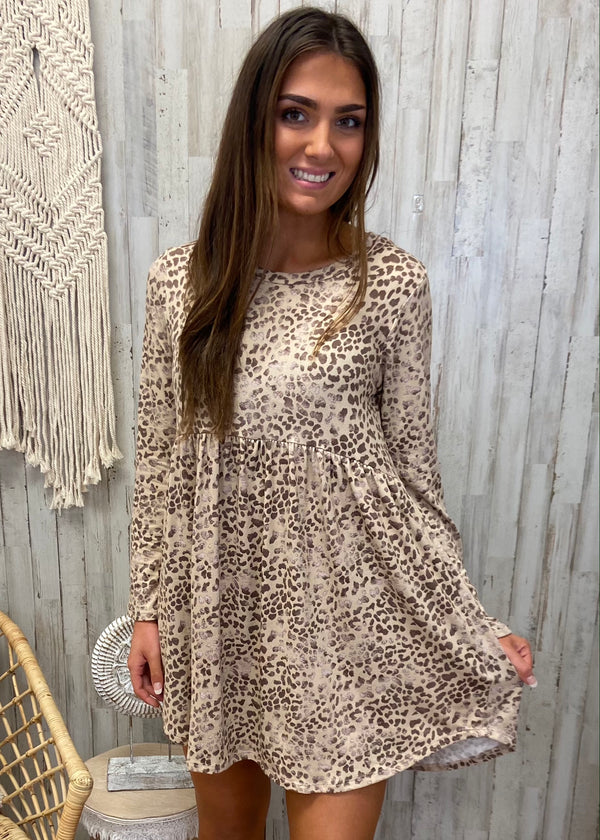 Jetsetter Brown Leopard Dress-Shop-Womens-Boutique-Clothing