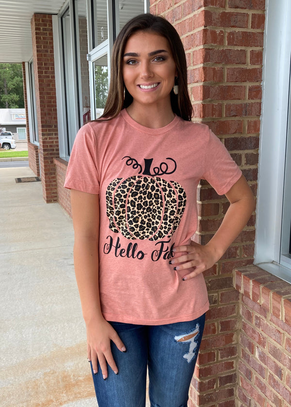Well Hello Fall Tee-Shop-Womens-Boutique-Clothing