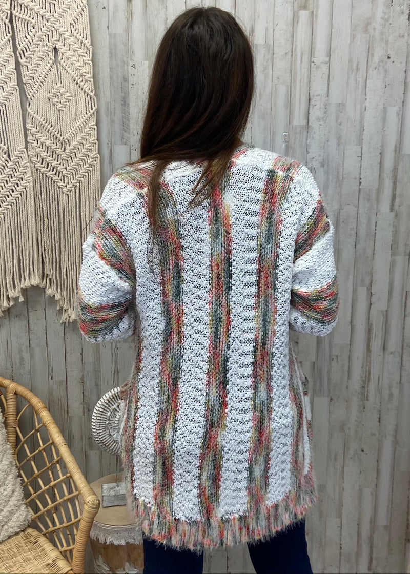 Cactus Stripe Cardigan-Shop-Womens-Boutique-Clothing