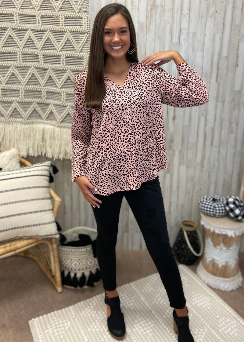 My Wild Side Pink Cheetah Top-Shop-Womens-Boutique-Clothing