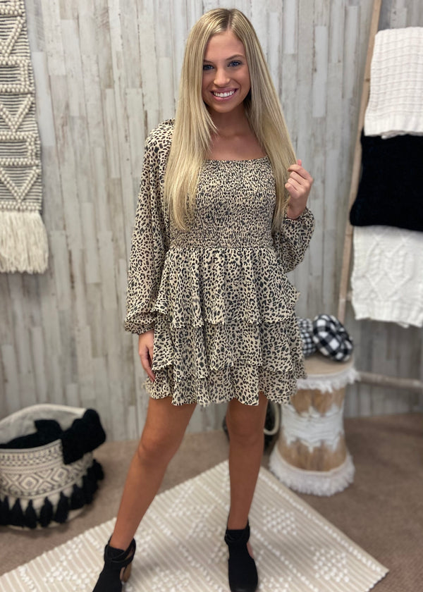 Looking For Love Taupe Leopard Romper-Shop-Womens-Boutique-Clothing