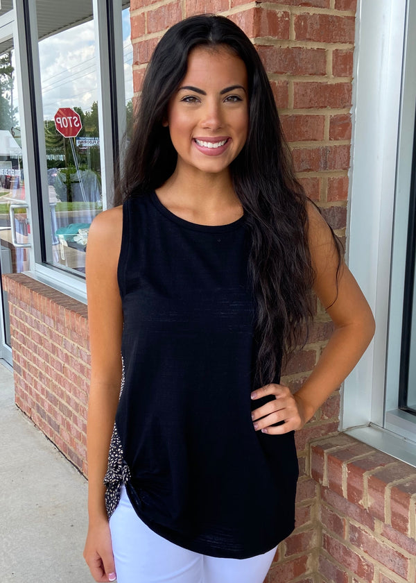 Until You Realize Black Tank Top-Shop-Womens-Boutique-Clothing