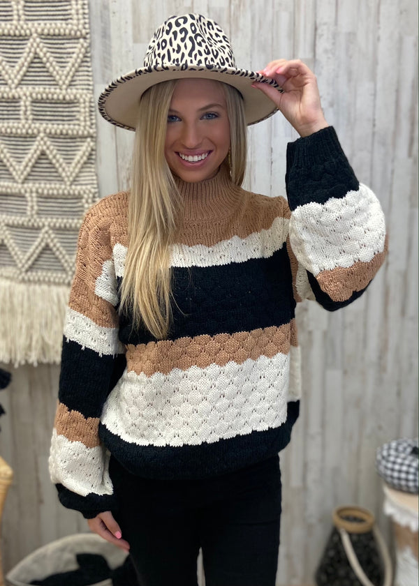 Tender Loving Care Mauve Sweater