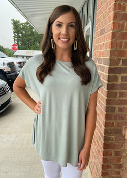 Anything But Basic Sage Top-Shop-Womens-Boutique-Clothing