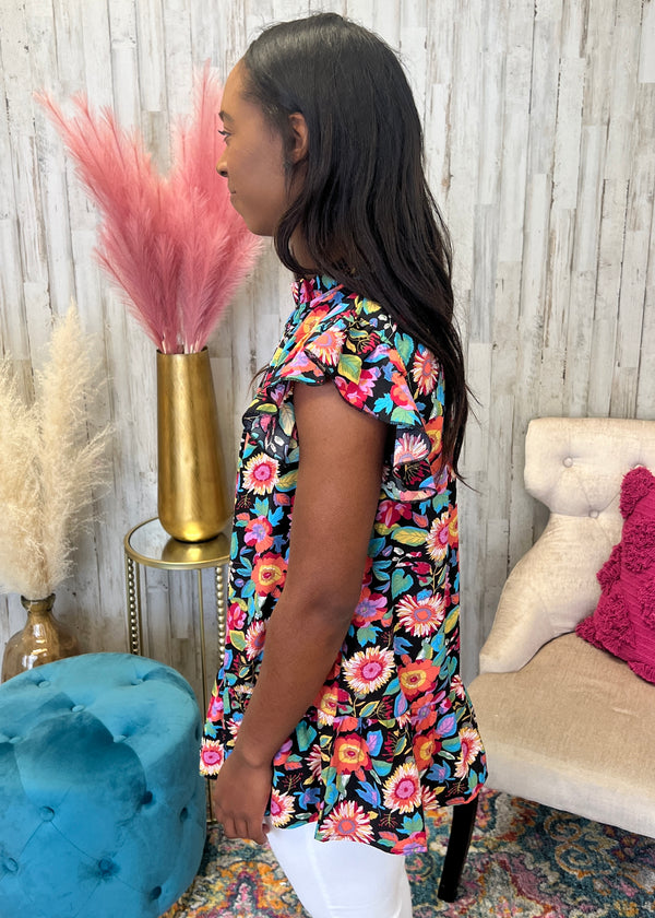 Show You This Rust/Mustard Striped Sweater Top