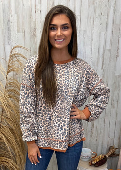 Earn Your Spots Brown Leopard Top-Shop-Womens-Boutique-Clothing