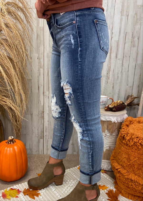 On The Runway Boyfriend Jeans-Shop-Womens-Boutique-Clothing