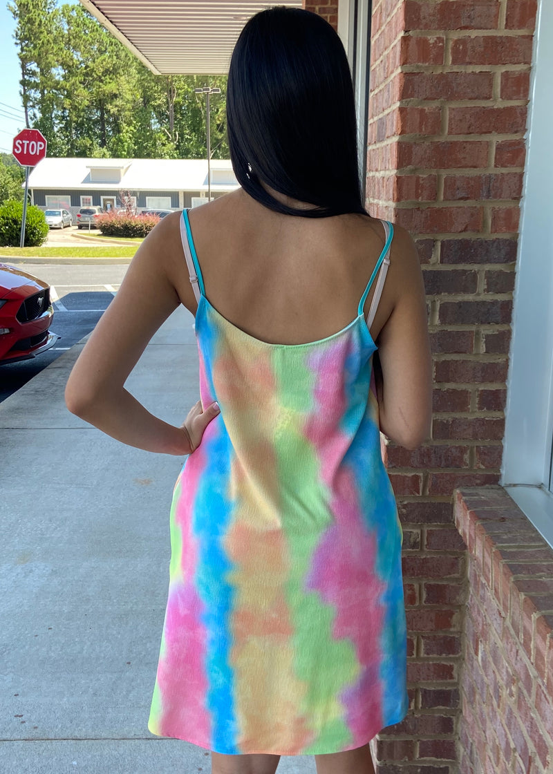 Summer Lovin' Tie Dyed Dress-Shop-Womens-Boutique-Clothing