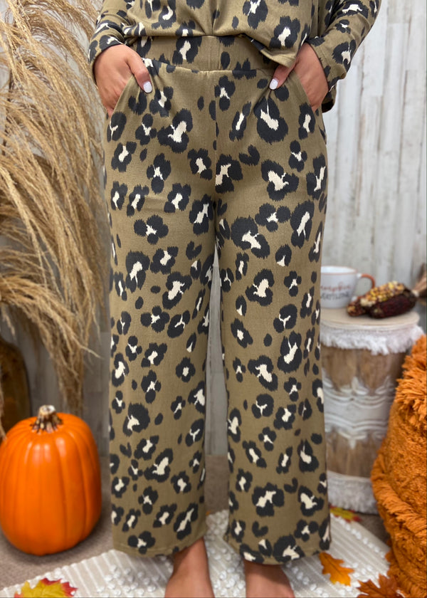 Curl Up With You Mocha Leopard Pants-Shop-Womens-Boutique-Clothing