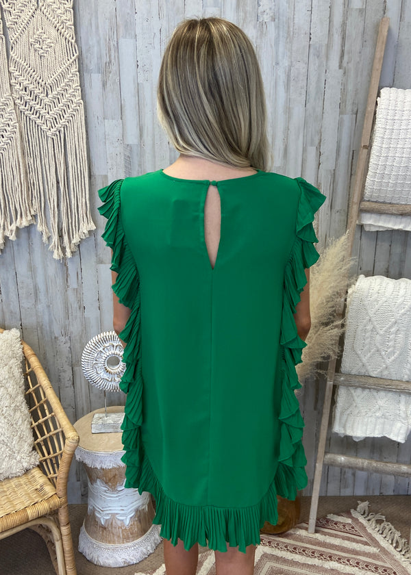 Roll With It Oatmeal Leopard Sleeve Top