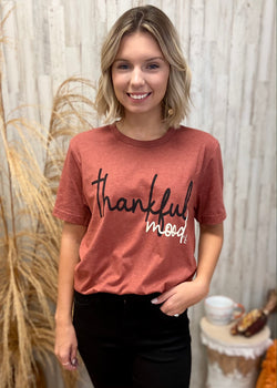 Thankful Mood Tee-Shop-Womens-Boutique-Clothing
