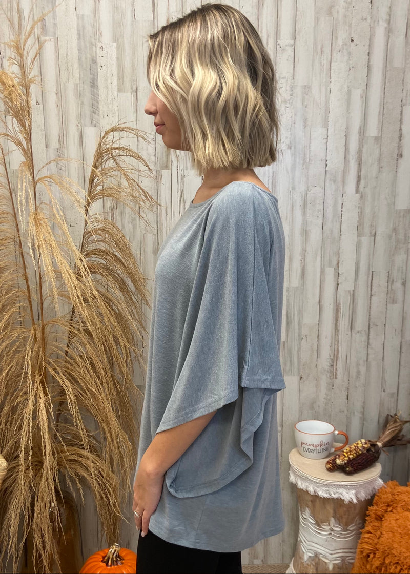 In Between the Pines Grey Top-Shop-Womens-Boutique-Clothing