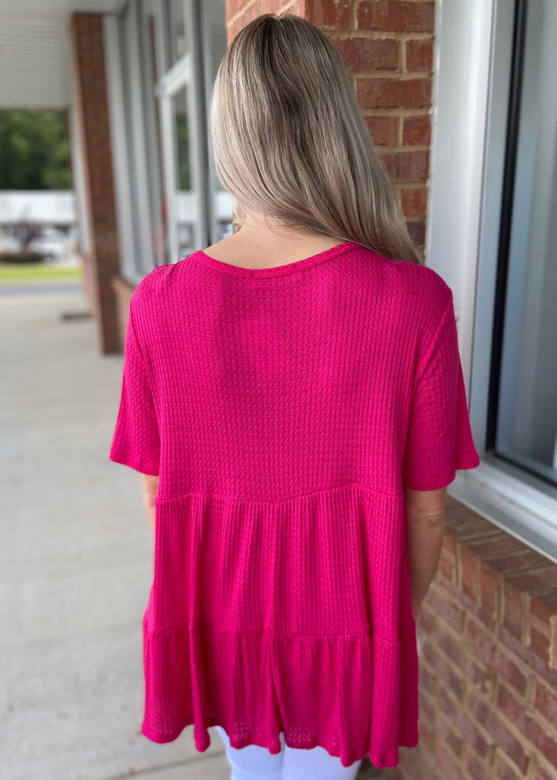 Take It To Heart Fuchsia Top-Shop-Womens-Boutique-Clothing