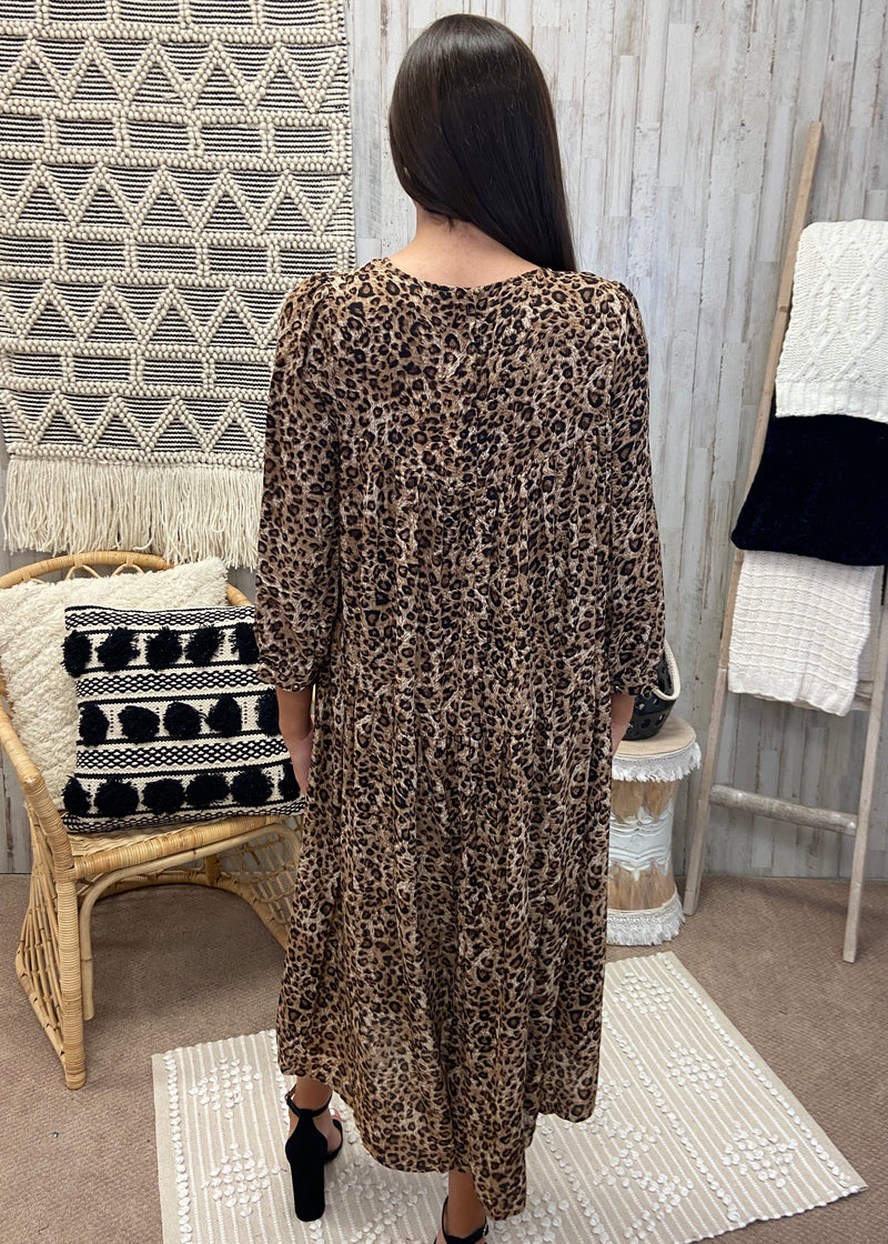 Loving Game Mocha Leopard Dress-Shop-Womens-Boutique-Clothing