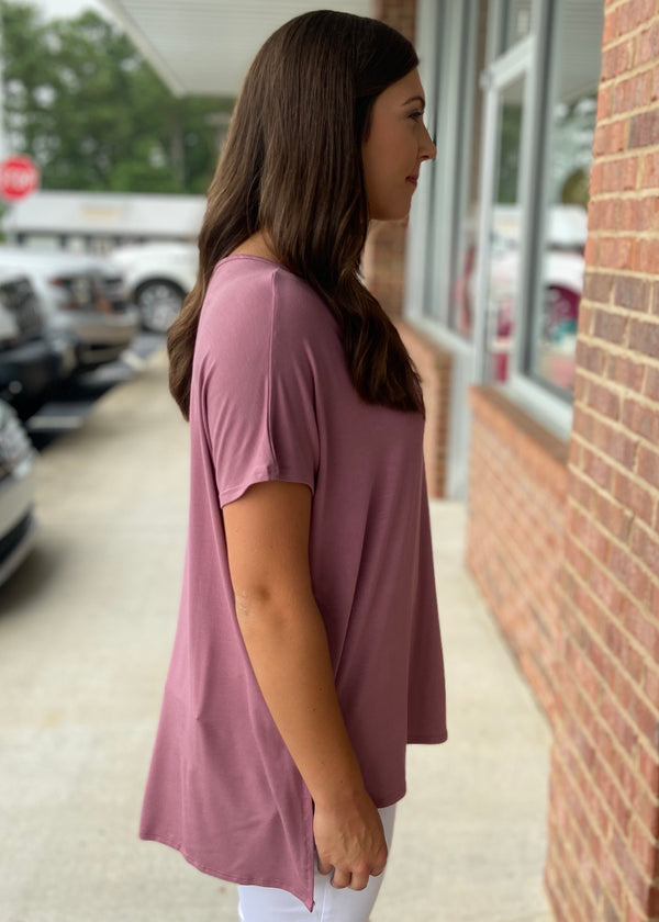 Anything But Basic Light Mauve Top-Shop-Womens-Boutique-Clothing