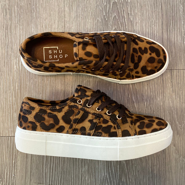 Maggie Animal Print Sneakers-Shop-Womens-Boutique-Clothing