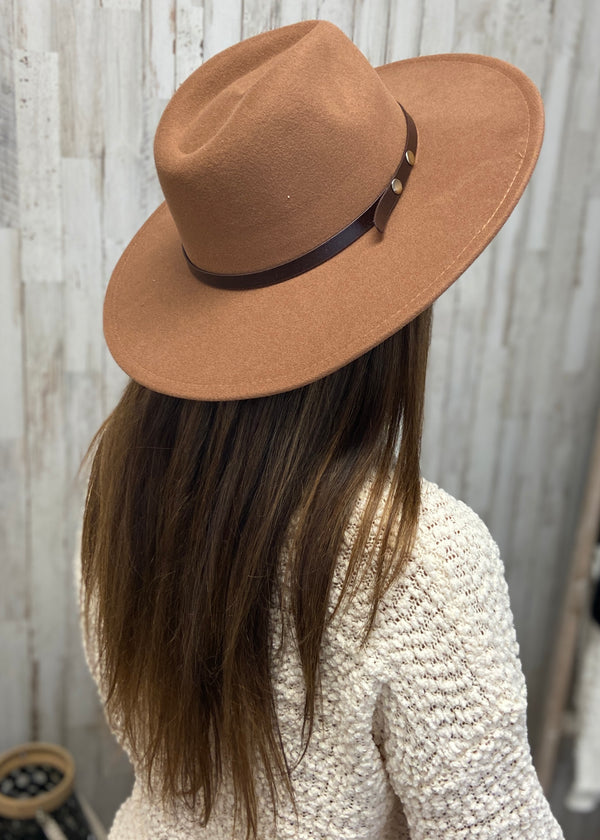 À La Mode Khaki Panama Hat-Regular-Shop-Womens-Boutique-Clothing