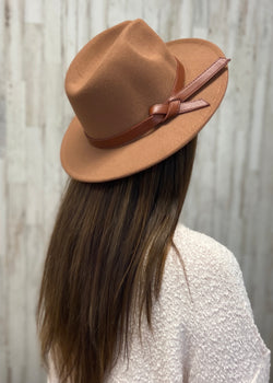 Straight Ahead Khaki Band Hat-Regular-Shop-Womens-Boutique-Clothing