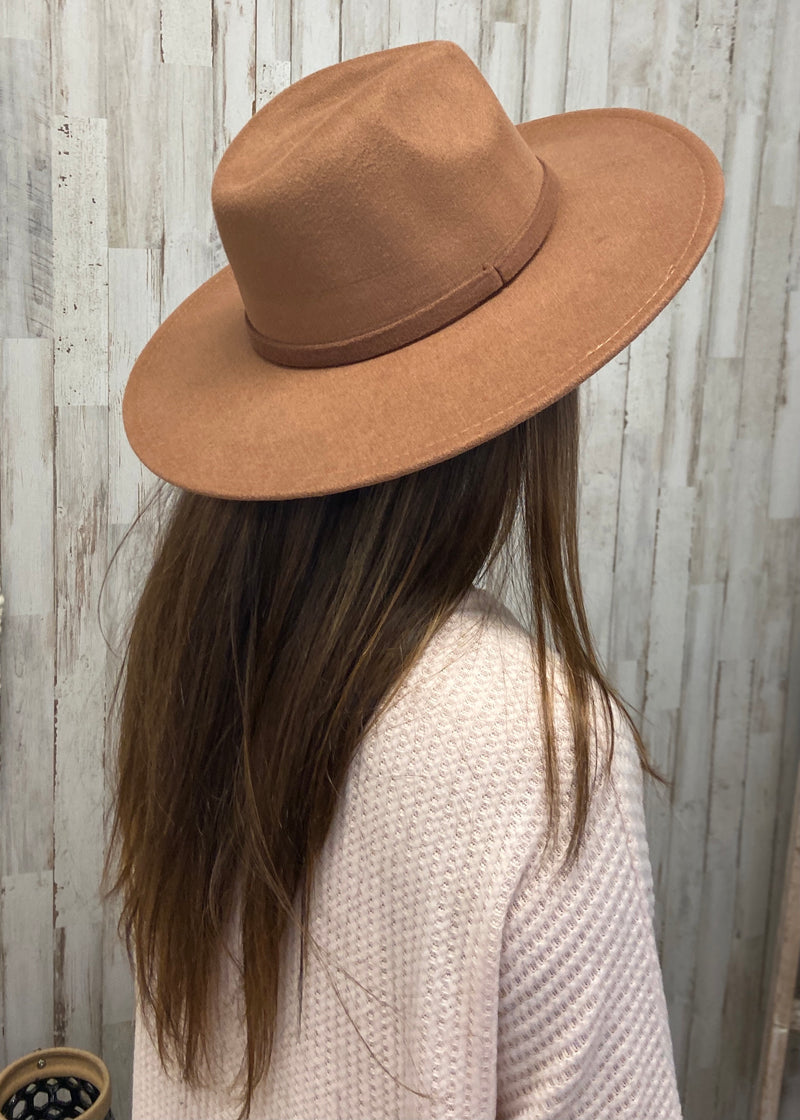 Stay Trendy Khaki Panama Hat-Regular-Shop-Womens-Boutique-Clothing