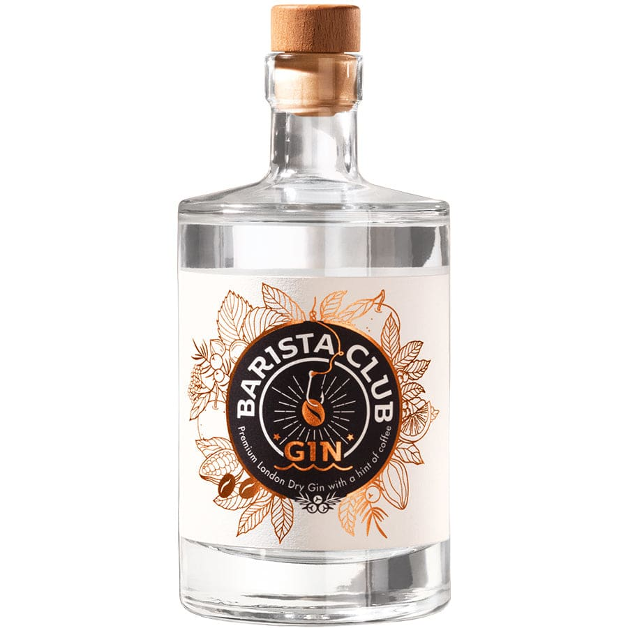 Barista Club London Dry Gin - Red Dot Design Award 2019 in  Geschenkverpackung