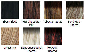 Surf One Wig Colours
