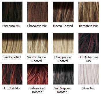 Tab Wig Colours