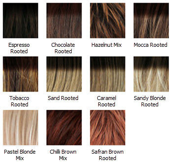 United Wig Colours