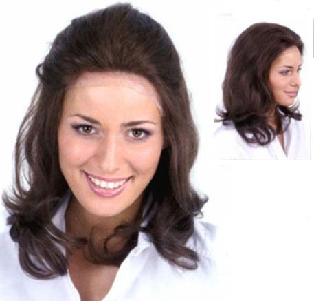 Human Hair  Michelle Lace Front Human Hair Wig
