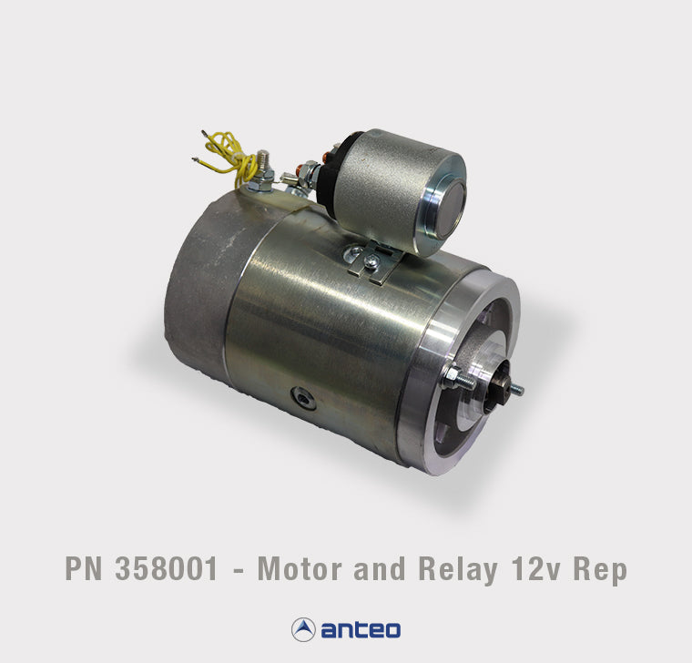 PN 358001 - Motor and Relay 12v Rep