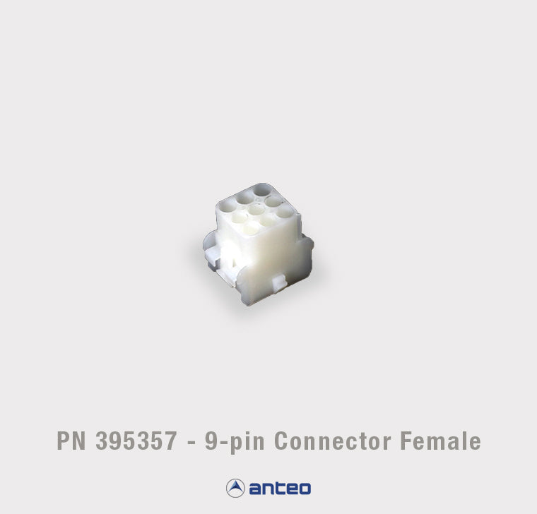 PN 395357 - 9-pin Connector Female