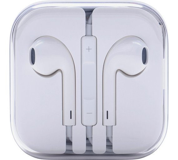Apple Earpods with Remote and Mic White MD827ZM/B