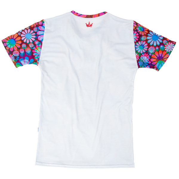 Colorful tee shirt great feel