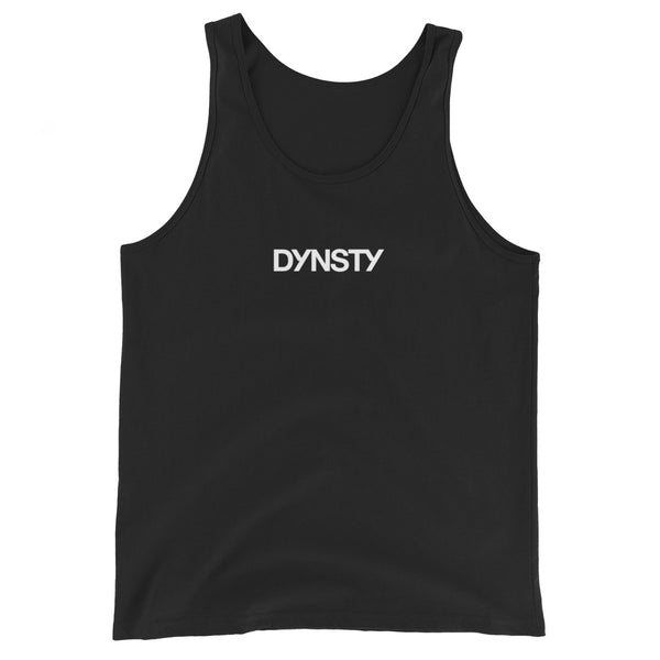 Dynsty Unisex Cotton Tank Top (Black)