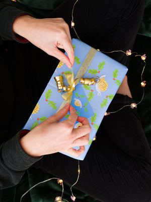 Recyclable 'Eco' Christmas Wrapping Paper