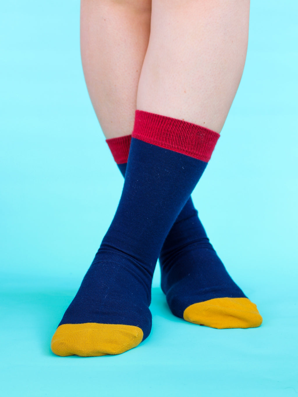 Essential Organic Calf-Length Kind Socks