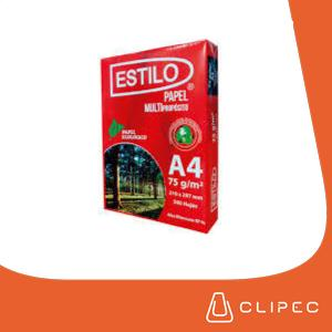 Resma de Papel Bond 75gr.