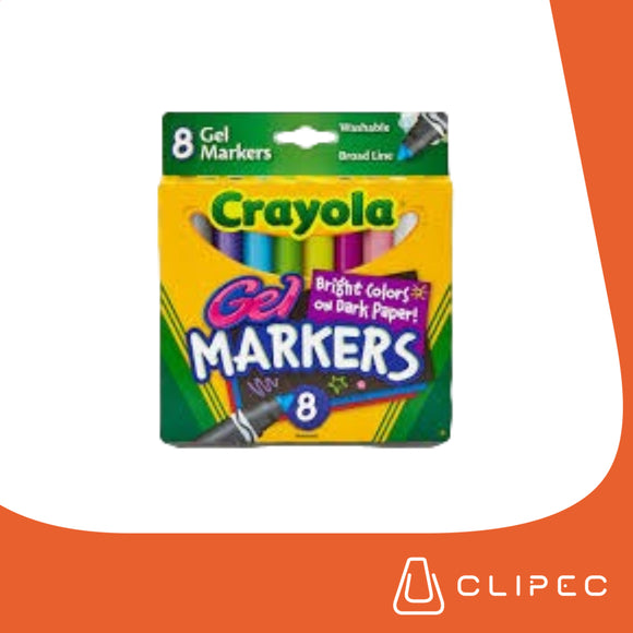 CRAYOLA GEL WASHABLE MARKERS