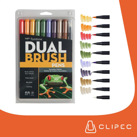 Tombow - Dual Brush - SECUNDARY PALETTE