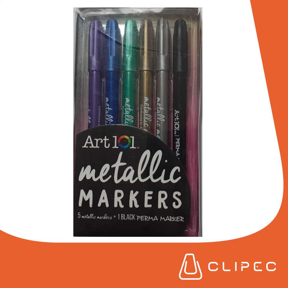 ART101 METALLICS MARKERS