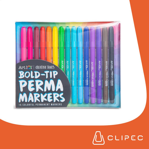 ART101 PERMAMARKERS BOLD TIP