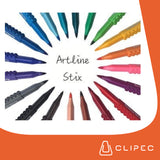 ARTLINE STIX BRUSH MARKER - SET 20 COLORES