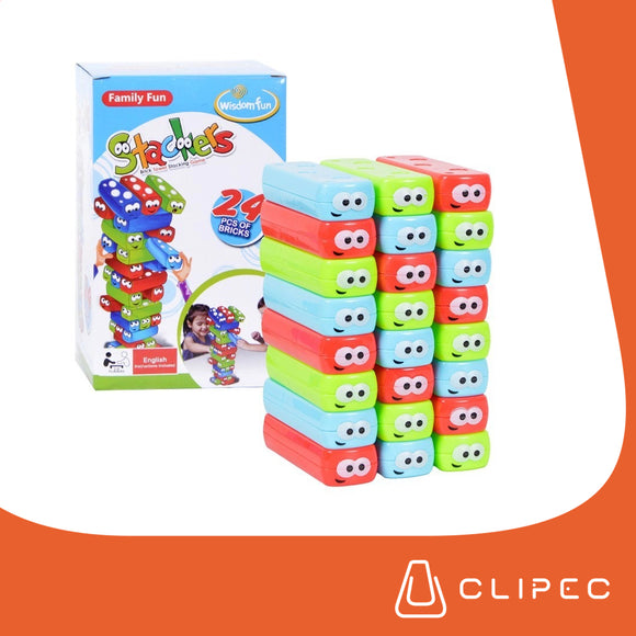 JENGA TOWER BLOQUES APILABLES - SET 24PZS