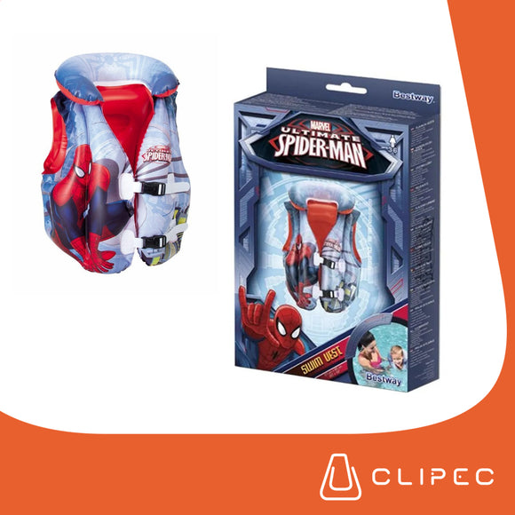 CHALECO INFLABLE SPIDERMAN