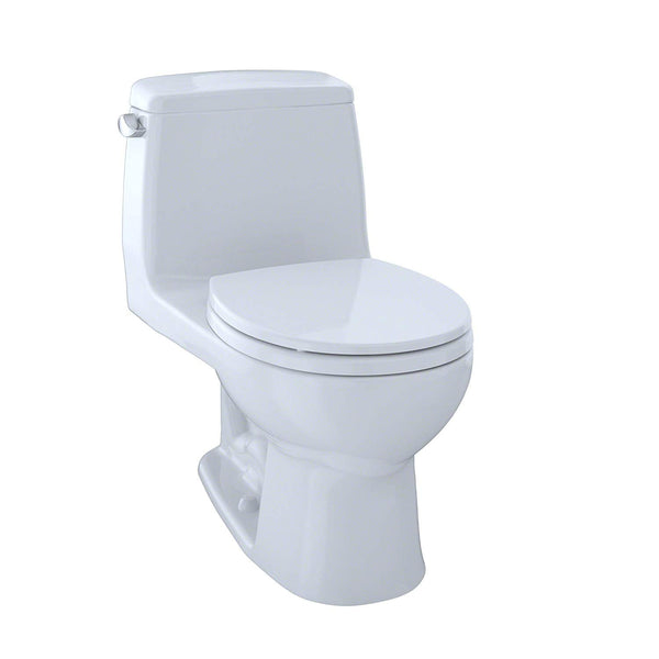 For bathrooms, en-suites, or powder rooms on the smaller side, a great space-saving solution is a compact toilet