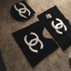 Modern Chanel Bathroom Set