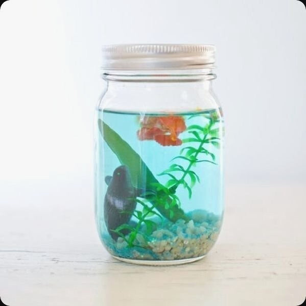 Pick Up Mason Jar Decor