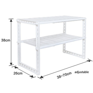 Amazon lxjymxkitchen storage rack multi function rack kitchen rack stainless steel telescopic lower sink rack multi layer storage rack floor storage rack