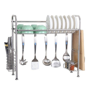 Get kitchen single sink storage rack dish rack spoon shovel chopsticks storage rack kitchen small items rack